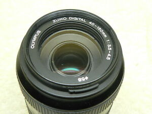 Olympus DIGITAL Zuiko 40-150mm F/3.5-4.5 Autofocus ZOOM Lens.4/3.E1 E3. BEAUTY!