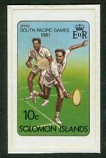 Solomon Is. 1981 10c Tennis MASTER PROOF