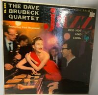 55' DAVE BRUBECK QUARTET COOL JAZZ MONO Red Hot & Cool ~ COLUMBIA CL699