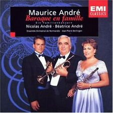 CD : ANDRE, Maurice - Baroque en famille - Comme Neuf