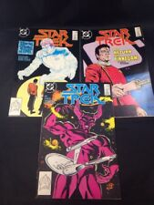 Star Trek # 52 53 54 DC Comics Kirk Spock McCoy TOS 1988 Peter David FN/VF
