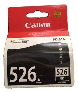 NEW! Canon Cli-526Bk Original Ink Cartridge Black Inkjet 1 / Pack
