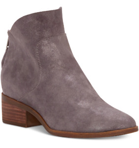 NEW Lucky Brand Women's Lahela Bootie Boots Size 5.5 M Charcoal $159
