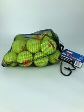TOURNA   Kids # 2 Tennis Balls.  Mesh Bag.   18 Count.  Youth Tennis (KIDS-2-18)