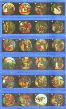 320-SERIE DE 12 PLACAS EN VIDRIO CON FOTOGRAMAS PARA VER CINE EN LINTERNA MÁGICA