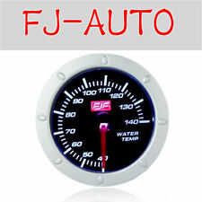Pop Style Water Temp Gauge 40-140°C White LED Displayed New