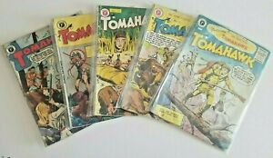 🚚 Tomahawk #'s 21,23,30,35,37 UK Edition's 68 B&W Pages