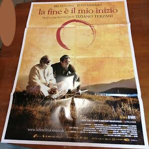 La fine è il mio inizio Locandina Copertina Piegata 100x70cm Poster Terzani N