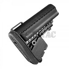 VLTOR Enhanced Modular Black Stock Mil-Spec Collapsible Buttstock 5.56/223/308