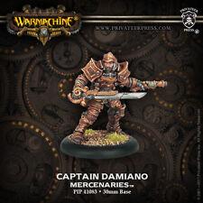 Warmachine: Mercenaries Captain Damiano Steelhead Warcaster PIP 41083 NEW
