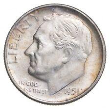 Unc BU MS 1951-S - US Roosevelt 90% Silver Dime Coin Collection Set Break *732