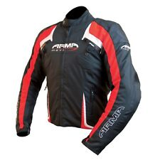 ARMR MOTO eyoshi IMPERMEABLE DEPORTIVO motos URBANO Moto Chaqueta textíl