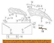 Chevrolet GM OEM 07-11 Aveo Hood-Support Prop Rod 96476588