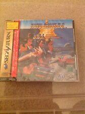Taito Chase H.Q Plus SCI Sega Saturn New Sealed NTSC J