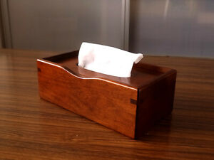 Toyooka Craft Wooden Tissue box sc50 made in Japan