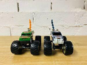 2006 Hot Wheels Monster Jam Truck Attack Pack Wolf Cobra Snake Blue Green Orange