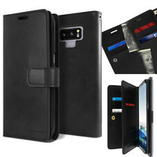 For Samsung Galaxy Note 9 Dual Shockproof Flip Book wallet Case Cover Snap Lock