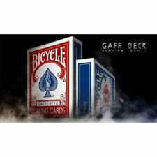 Bicycle Playing Cards red Rider Full Gaff Deck Rare Limited Accessory Magic..