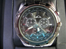 L & Co. Timepieces Watch A Large Heavy Mens Watch
