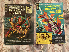 VOYAGE to the BOTTOM of the SEA 2 Issue Lot! #'s 7 & 14 (2/67-11/68 Gold Key) TV