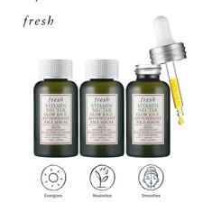 FRESH Vitamin Nectar Glow Juice Antioxidant Face Serum 45ml [15mlx3ea]