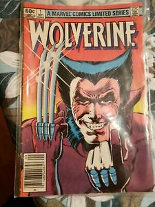 WOLVERINE # 1 VF Frank Miller Rubinstein Iconic Cover Limited Series
