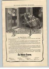 1909 Paper Ad Baldwin Piano The Baldwin Co Cincinnati  Cluett Shirt Troy NY