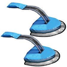2PC Swimmingpool Froglog Lebewesen Einsparungs Fluchtrampe blaues Fluchtnetz