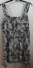 1X Style & Co. Woman Women's Knit SUMMER DRESS w/Longer Sides Elastic waist NWT!