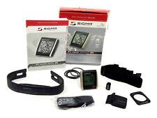 Sigma BC 2209 Targa Wireless Bike Computer w/ Altimeter, Heart Rate Monitor