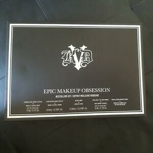 Kat Von D Bestsellers Set Epic Makeup Obsession 5pc Gift Set NEW AUTHENTIC