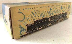 O Scale Gauge 2 Rail Auto Car Kit Train Model 1940 Scale-Craft MIB K 2199