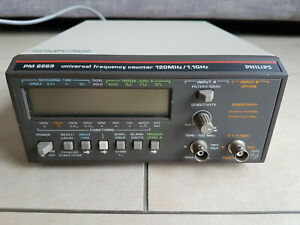 Philips PM6669 Universal Frequency Counter
