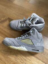 Nike Air Jordan 5 V Wolf Gray Grey 11 136027-005 Retro Og White Grey
