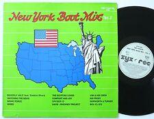 "NEW York Boot Mix Vol. 2 ORIG ZYX US discoteca/Modern Soul/Boogie 12"" MAXI MINT -"