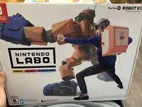 Nintendo Labo: Toy-Con 2 Robot Kit (Switch, 2018)
