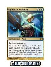 4x Righteous Authority (Return to Ravnica) SP or Better Mtg ~Flipside2~