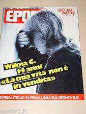 EPOCA=1985/1797=JEAN VERAME=SOPHIE MARCEAU=TORNADO MRCA MB 339 F-104S=BORLETTI=