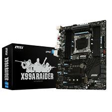 Carte mère MSI X99A Raider Intel X99 ATX socket 2011-v3   LIVRAISON GRATUITE