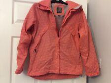 ladies craghopper showerprof jacket with hood pink size 10 worn very little