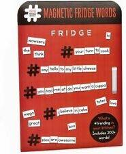 Over 200 Magnetic Words for your Fridge - Get Creative