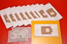 10 Sacchetto per aspirapolvere per Philips fc8452 FC 8452 hr6999 fc9050 fc9000 fc9100