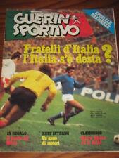 GUERIN SPORTIVO 1975/44 POSTER MILAN ITALIA POLONIA @