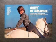 AM11 - Clipping-Ritaglio -1987- CAMARGUE , ALLA FOCE DEL RODANO
