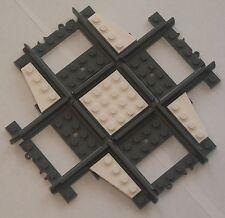 Custom Lego Track 90 Deg Crossing / Crossover (white) Power Function & RC Train