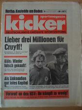 KICKER 91-13.11. 1975 * Erwin Kremers Schalke Beckenbauer rät vom Kauf Grauls ab