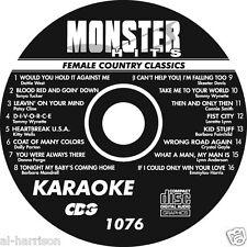 Karaoke Monster Hits Cd+G Female Country Classics #1076