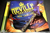 The NEVILLE BROTHERS new orleans LIVE at TIPITINA'S 1982 concert AARON rhino CD