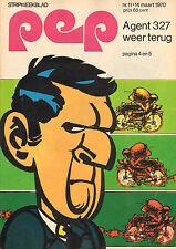 PEP 1970  nr. 11 - AGENT 327 (COVER)/LAU VAN RAVENS & ARIE VAN GEMERT/H.G.KRESSE