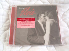 LOVE, ELVIS PRESLEY CD NEW 24 SONGS 2005 REMASTERED CLASSIC ROCK HYPE STICKER